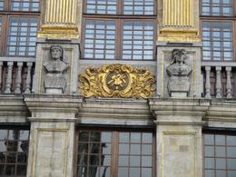 Freemason symbols on Grand Place , Julie M - September 2016