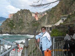 That's me walking from Riomaggiore to Manarola- it's an amazing site! , Barry B - April 2012