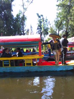If you pay a little more Peso's you can have a Mariachi band float along with you. , Thao E - November 2012