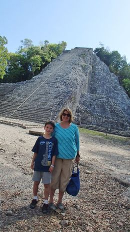 Just completed the climb...still no one in sight. Headed to the coolness of the cenote! , Susan B - September 2015