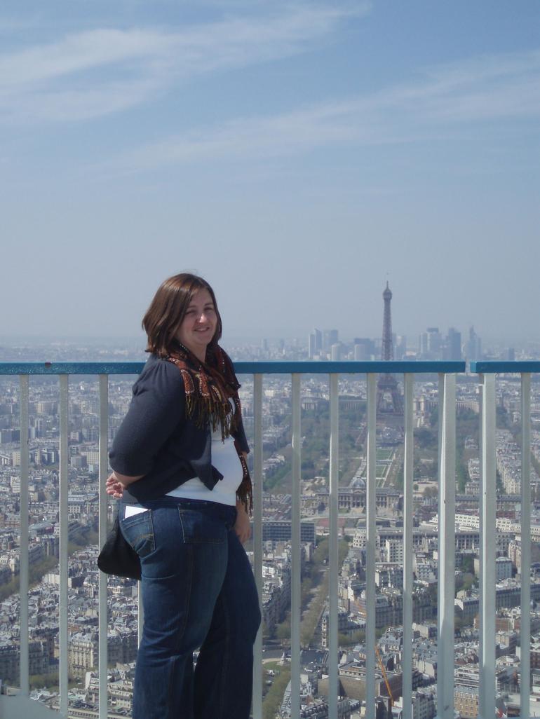 On the terrace - Paris
