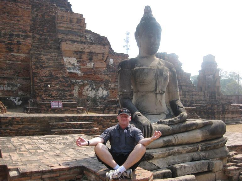 Peaceful pose - Bangkok