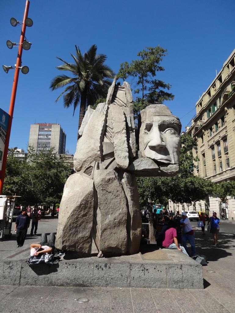 Plaza del Armes - Santiago