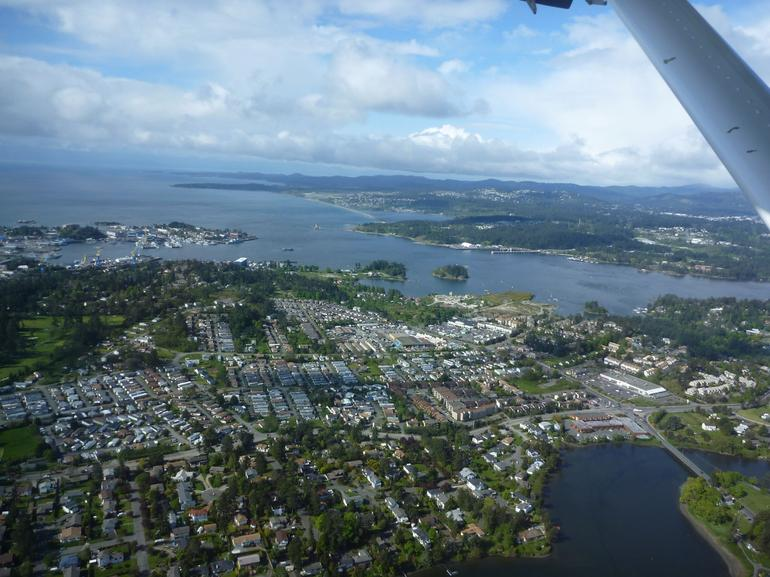 Sea Plane to Victoria - Vancouver