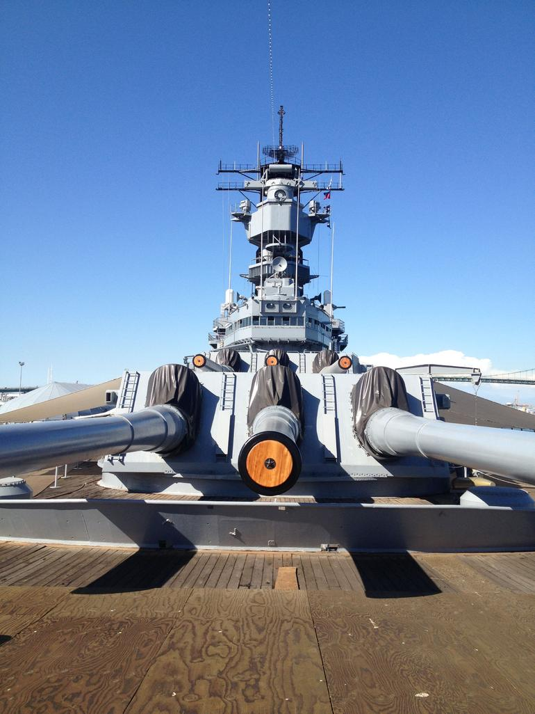 The USS Iowa - Los Angeles
