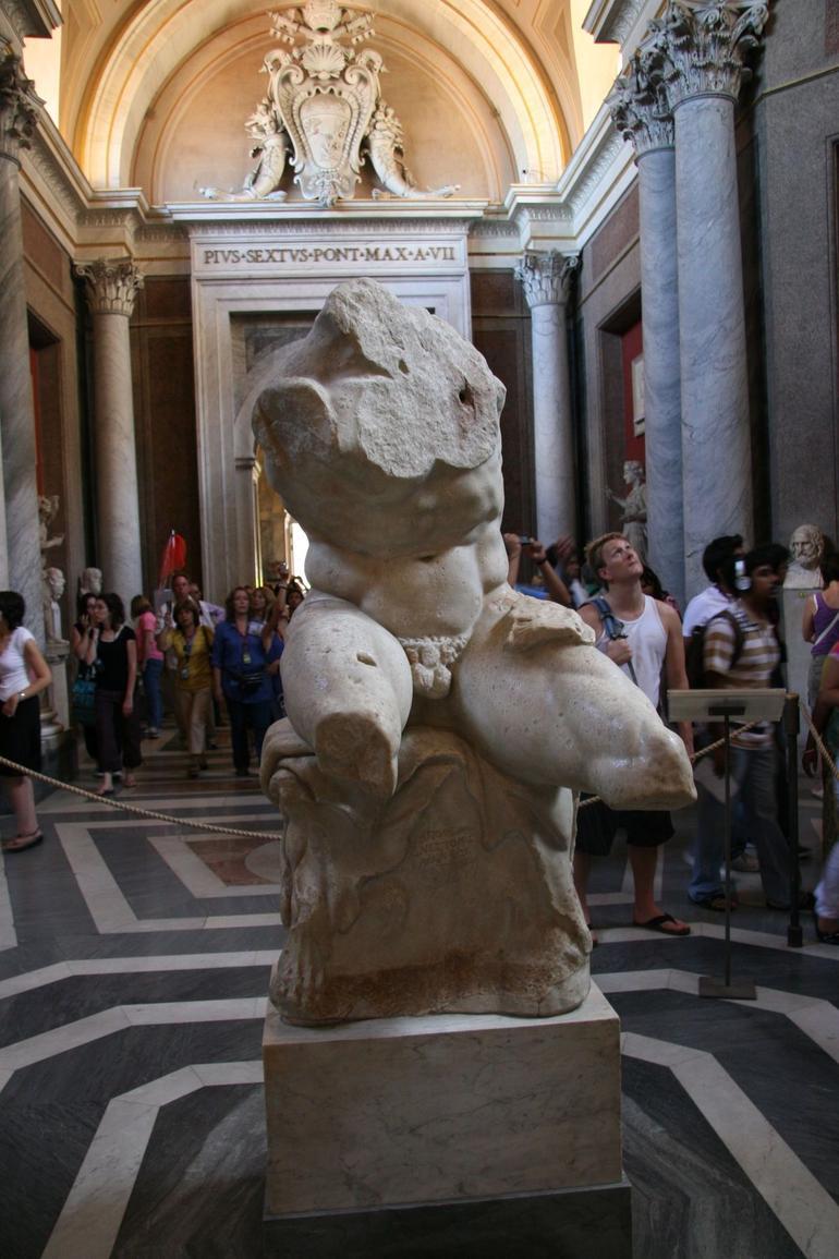 Torso Del Belvedere - Rome