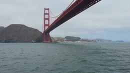 Golden Gate Bridge from the Boat Tour , Ann E J - December 2016