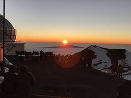Sunset from Mauna Kea. , Michael G - January 2017