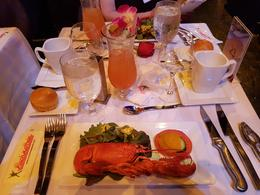 Lobster was delicious. , Anthony - March 2017