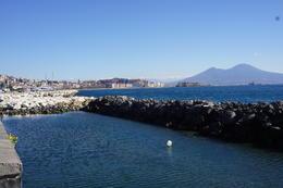 Naples at the bay. Volcano Vesuvius in distance. , Deidre B - March 2017