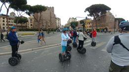 Our group cruising around Rome , JOHN G - July 2017