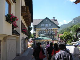 A street in St. Wolfgang Village. I love the beautiful flowers everywhere. , Thomas E - June 2011