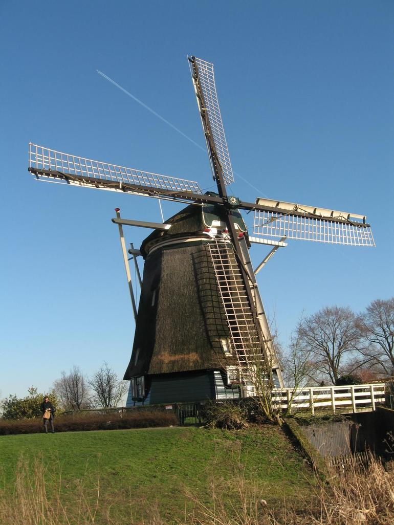 A typical windmill - Amsterdam