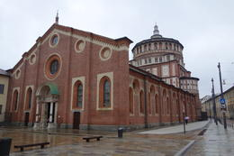Last Supper - no Line. Duomo Cathedral Vittorrio Emmanuelle City Hall La Scala Opera house , Ryan Anderson T - April 2013