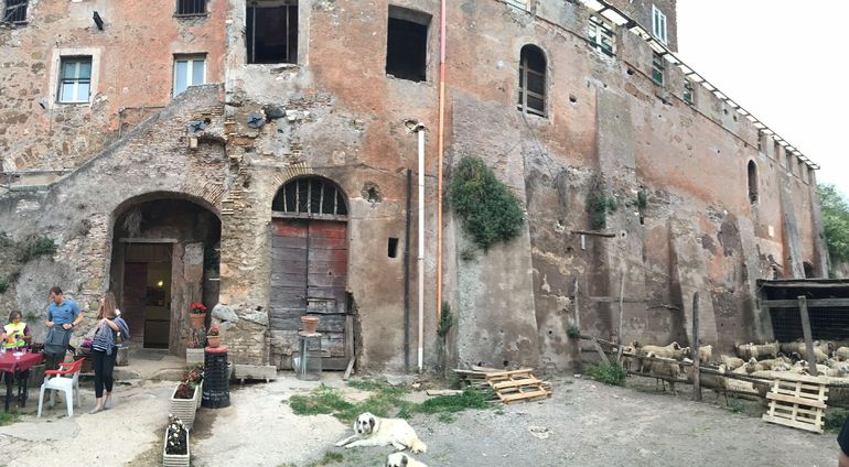 Ancient Appian Way, Catacombs and Roman Aqueducts Electric-Assist Bicycle Tour photo 23