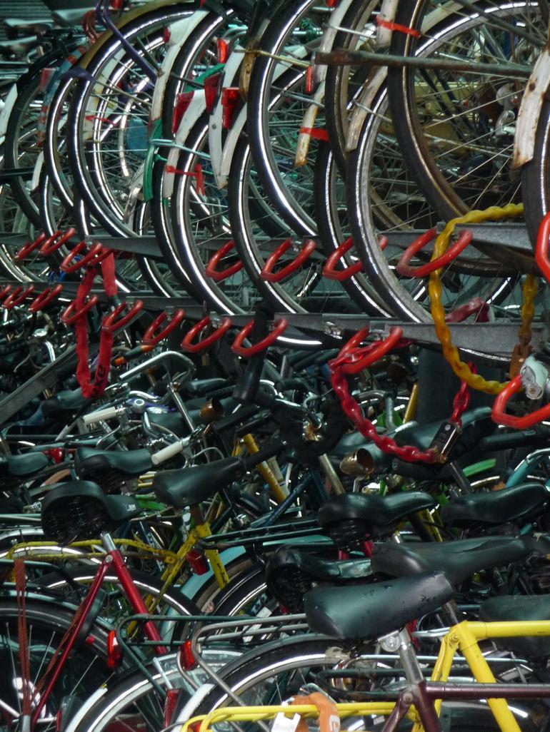 Bicycle Parking Lot -