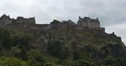 The view of the impossing Castle from the railway exit, Susan H - August 2010