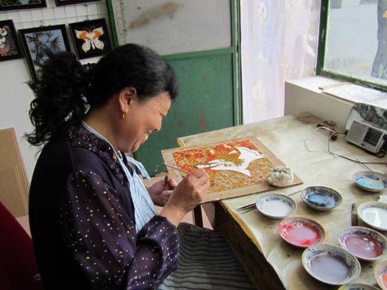 Cloisonn� Factory - Beijing