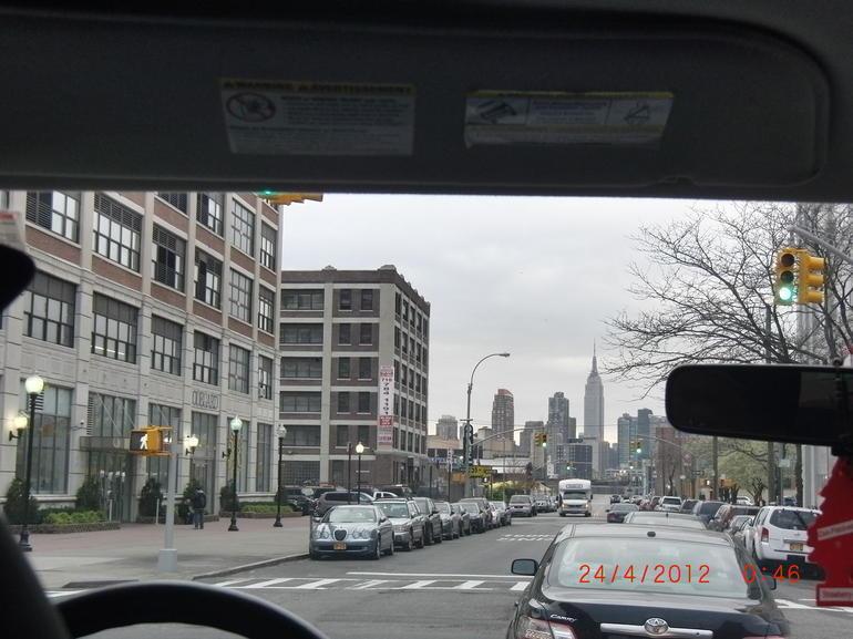 Der 1. Eindruck von NY - New York City