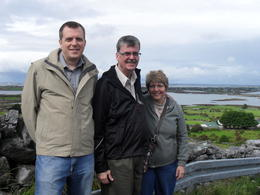 A lifelong wish to visit Ireland. Photo stop at Galway Bay. , Anne-Marie - August 2011