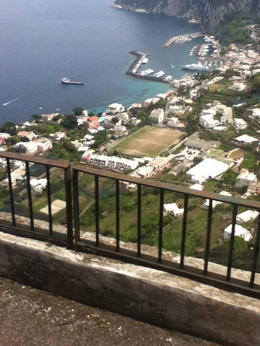 ON OUR WAY TO THE TOP OF ANACAPRI! , Giselle G - May 2013