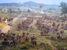 Gettysburg Cyclorama - August 2013