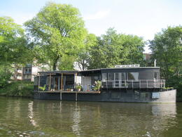 Amsterdam boat houses ☺ , anagodinho - September 2011