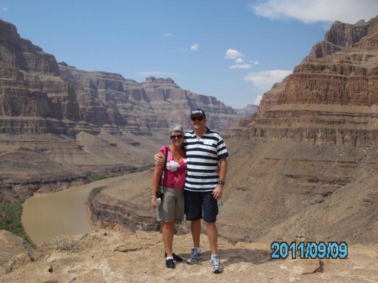 J and J at Grand Canyon - Las Vegas