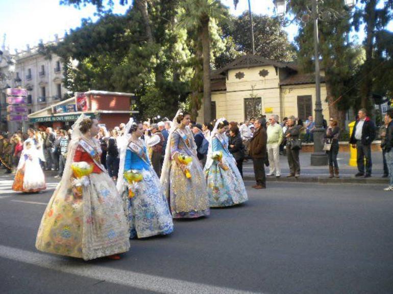 Las Fallas - Valencia