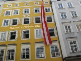Mozart Geburtshaus in Salzburg - September 2009