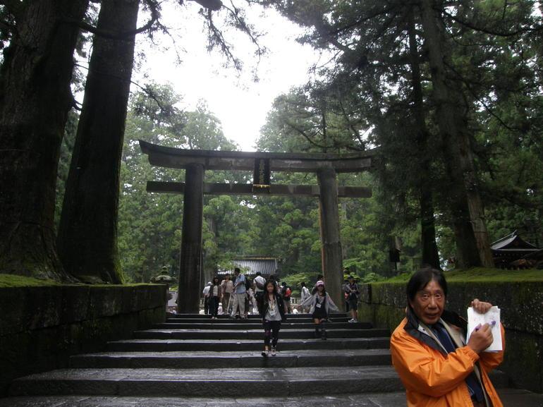 Mr Hara at Nikko - Tokyo