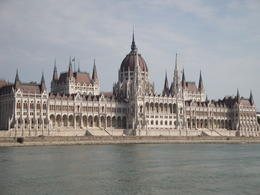 Parliament viewed from the Danube , Karen P - September 2011