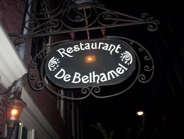 Restaurant Del Belhamel - Amsterdam