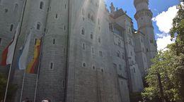 Slottet Nauschwanstein. Det er ett vakkert slott med en flott utsikt. , Trond B - July 2016