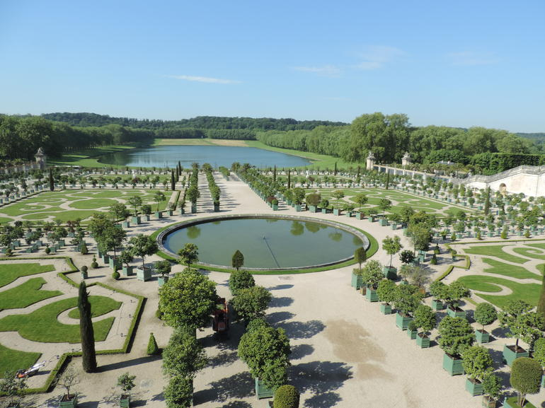 The gardens - Versailles