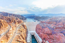 View of the Hoover Dam from the Bypass Bridge before heading to the Grand Canyon., Viator Insider - December 2017