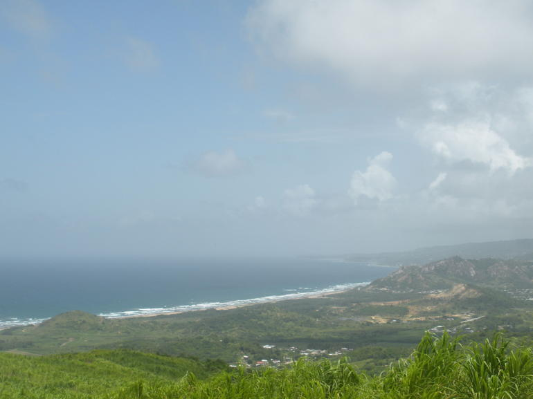 View from a lookout in Barbados - Caribbean