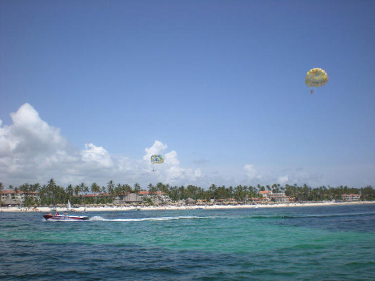 View from boat - Punta Cana