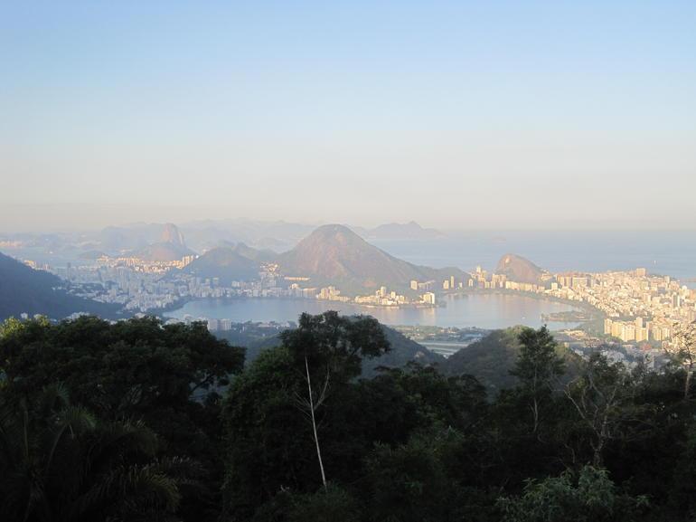 View from the top of Tijuca - Rio de Janeiro
