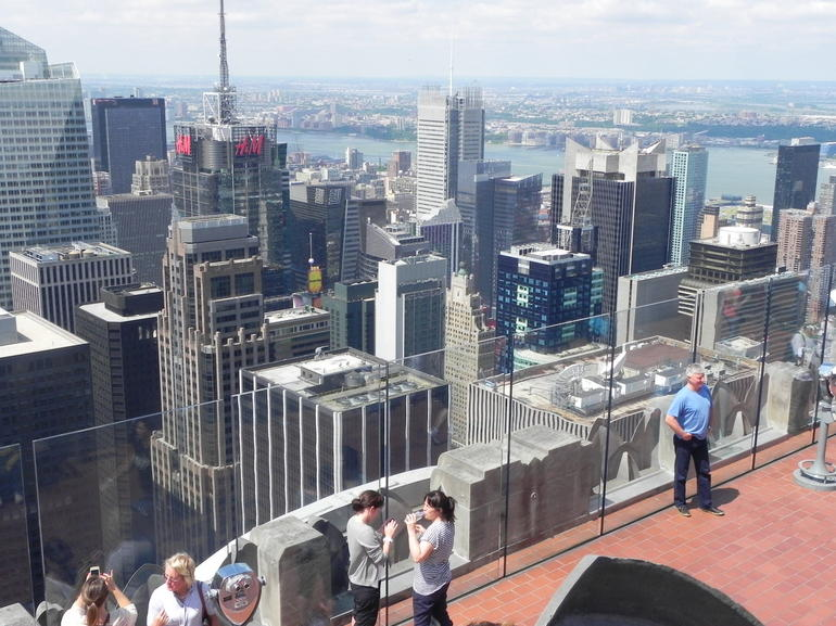 vue du Top of the Rock - New York City