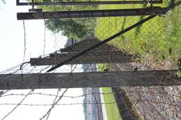 Part of the original fence , kerrem - October 2016