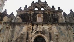 A colonial church that survived the fire caused by William Walker. , Josue A - December 2016