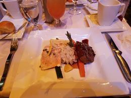 Steak and chicken. , Anthony - March 2017