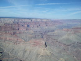 view from grand canyon from above. , Angelica T - October 2012
