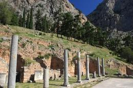 Beautiful scenery surrounding ruins of Delphi , Paul K Phillips - October 2012