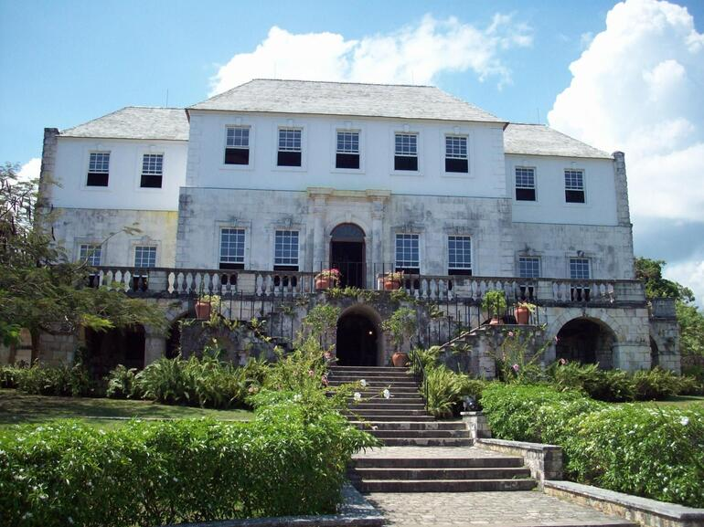 Front of Great House - Montego Bay