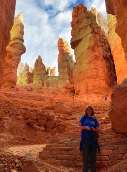 Giant Hoodoos, Rachel - October 2012