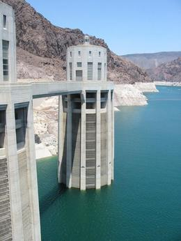 A water uptake tower, feeding Hoover Dam. - June 2008