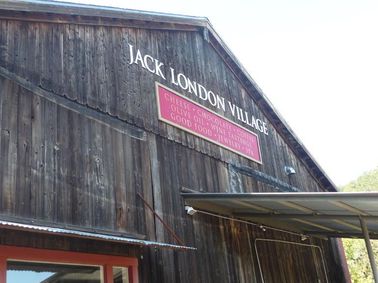 Jack London Village in Glen Ellen - San Francisco