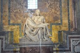 Michelangelo's St. Peter's Pieta, Adel D - August 2010